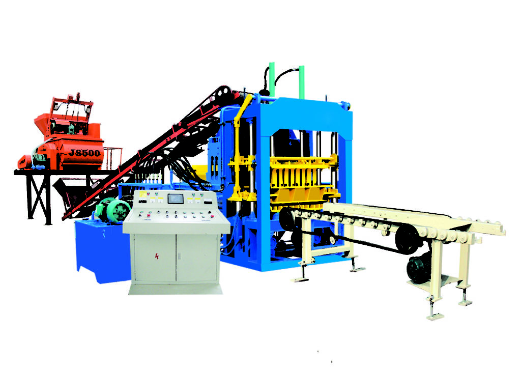 QT4-15D interlocking tiles machine