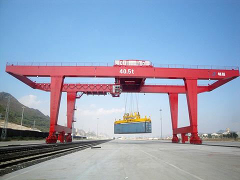 Weihua rail mounted gantry crane sales