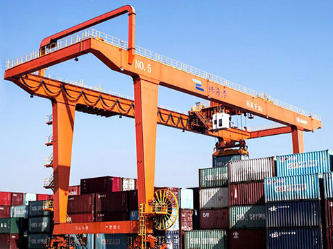 rail mounted container gantry crane sales