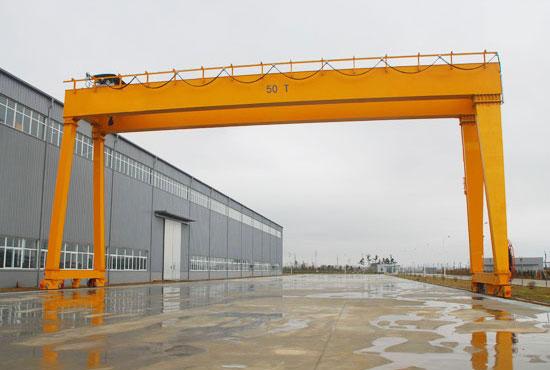 Double Girder Gantry Crane 50 Ton